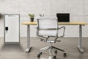 confidential paper waste office console